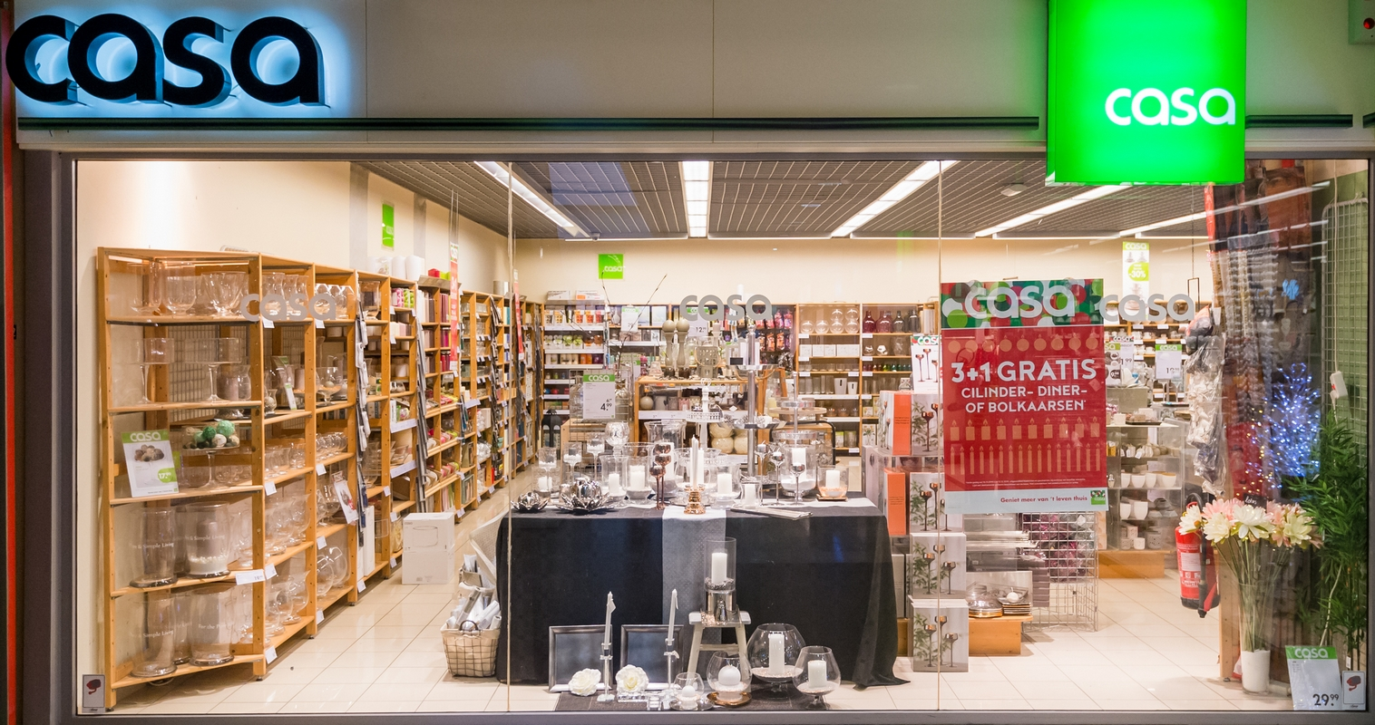 Casa for Interieur decoratie winkels